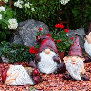 Садовые фигуры гномов и сказочных героев
