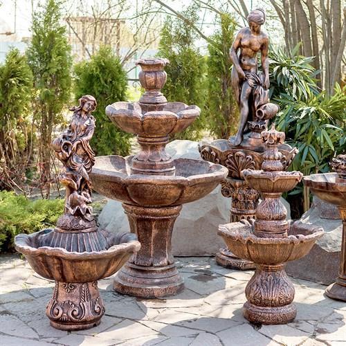 Фонтаны и поливалки садовые