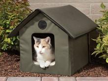 Зачем коту домик?