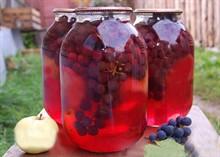 Заготовки из винограда