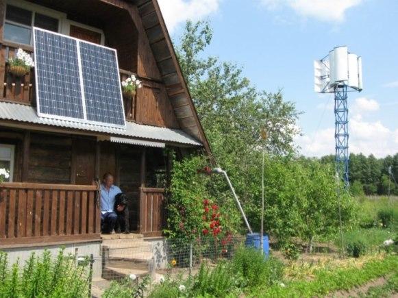 Как обеспечить автономное энергоснабжение на даче?