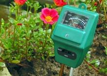 Измеритель кислотности pH почвы электронный 3 в 1