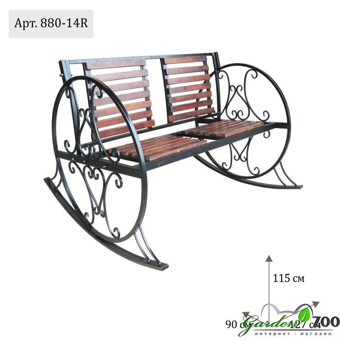 кованое кресло фото
