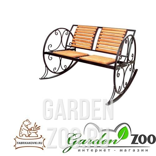 Кресло качалка из металла 881-42R - фото 15349