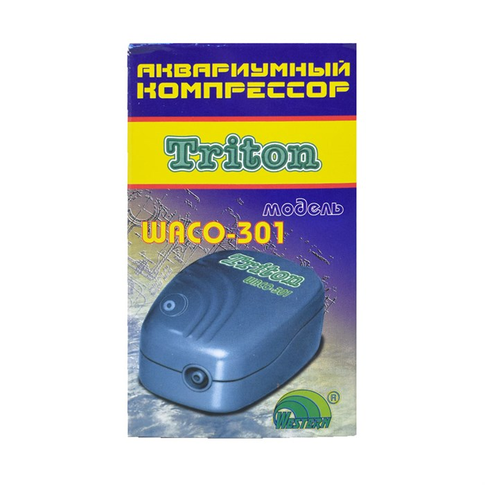 Компрессор ТРИТОН WACO-301 с регулятором