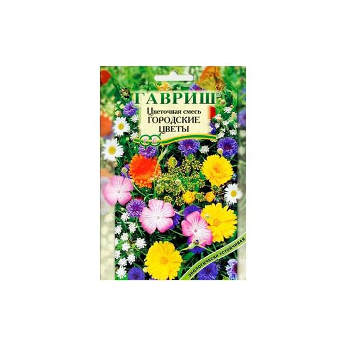 Цветочный газон Городские цветы