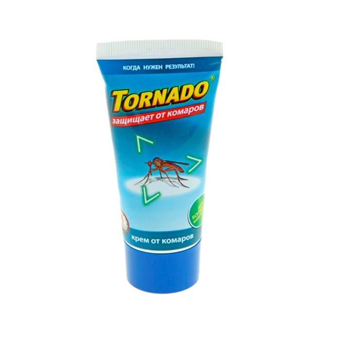 Крем от комаров Торнадо