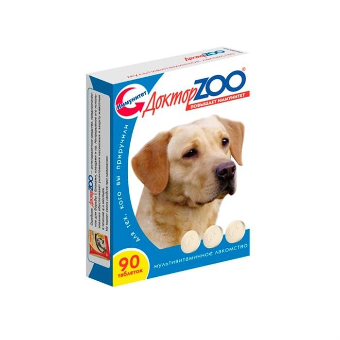 Лакомство ДОКТОР ЗОО для собак 90т здоровый иммунитет