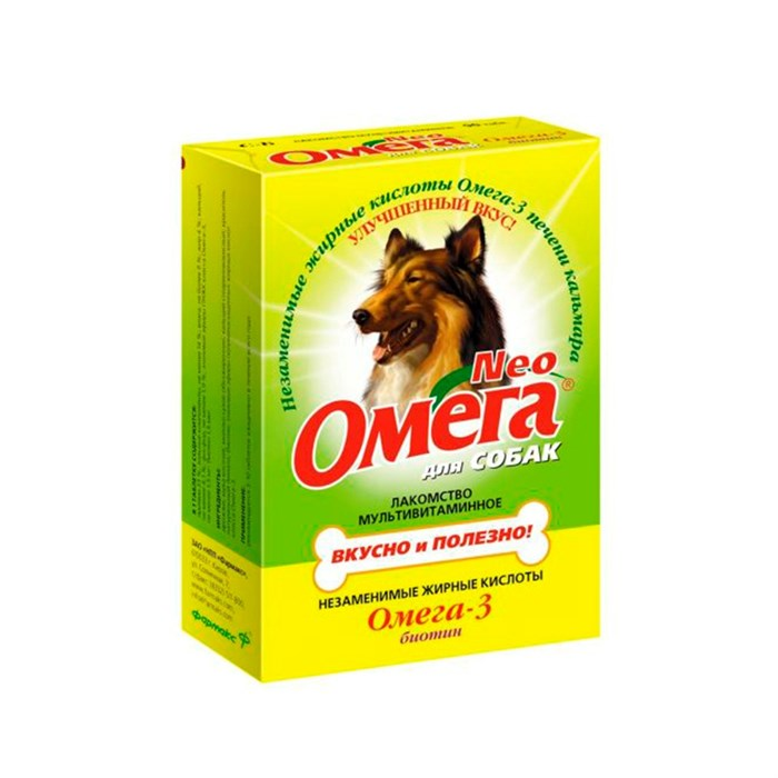 Лакомство Омега Нео для собак биотин