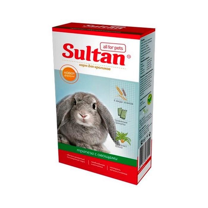 Корм СУЛТАН для кроликов с овощами