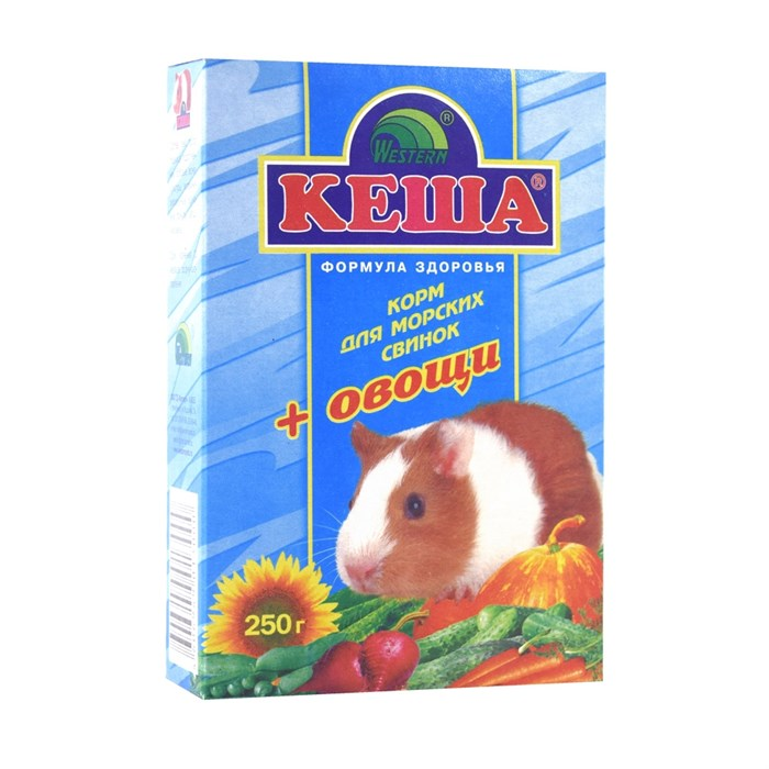 Корм КЕША для морских свинок 250г (овощи)
