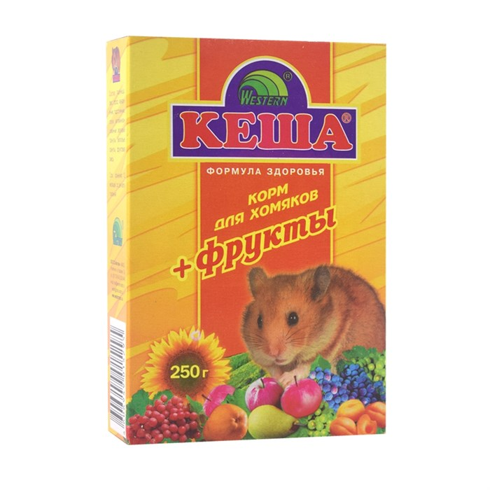 Корм КЕША для хомяков 500г (фрукты)