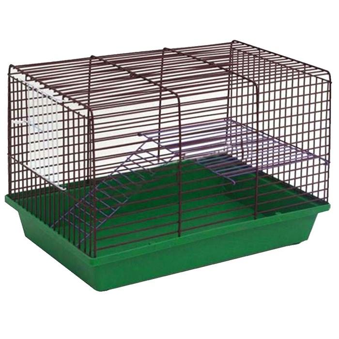 Клетка ГРИЗЛИ для грызунов 2-х этажная (металл)