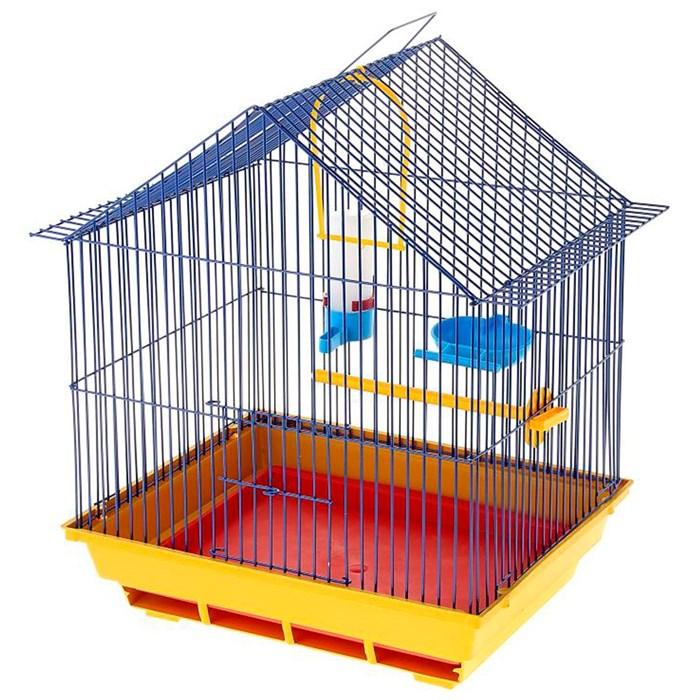 Клетка для птиц Малый домик комплект - фото 27577
