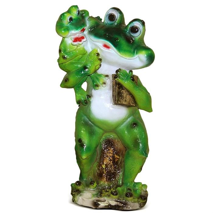 Фигура Лягушка с лягушонком