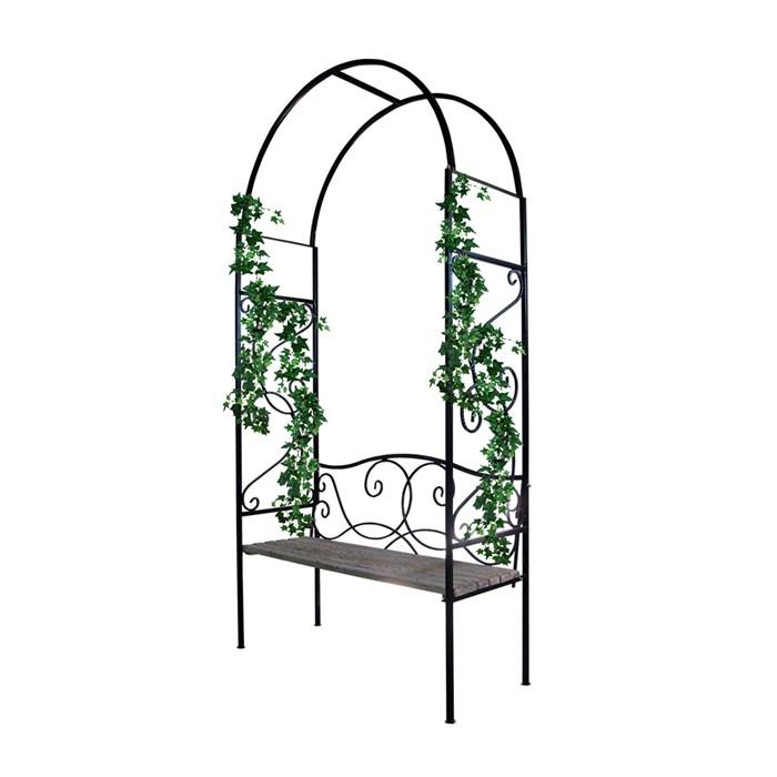 Арка садовая металлическая