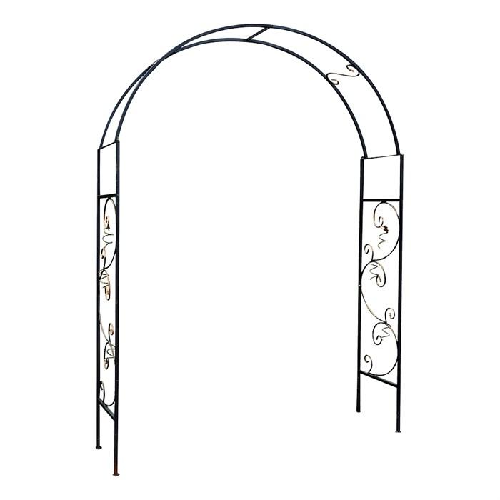 арка кованая