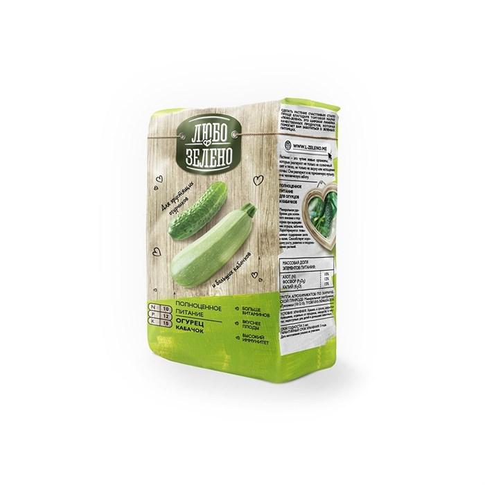 Удобрение Либо-Зелено для Огурцов и кабачков 1кг брикет
