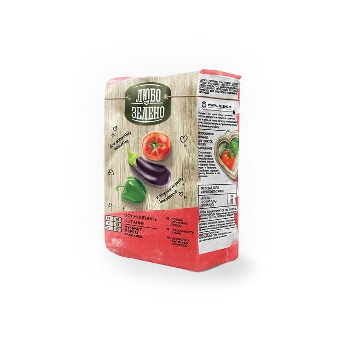 Удобрение Либо-Зелено для Томатов,перцев и баклажан 1кг брикет