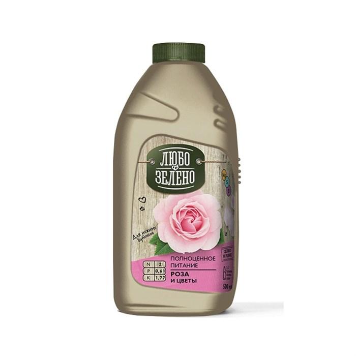Удобрение Либо-Зелено для Роз и цветов 500мл