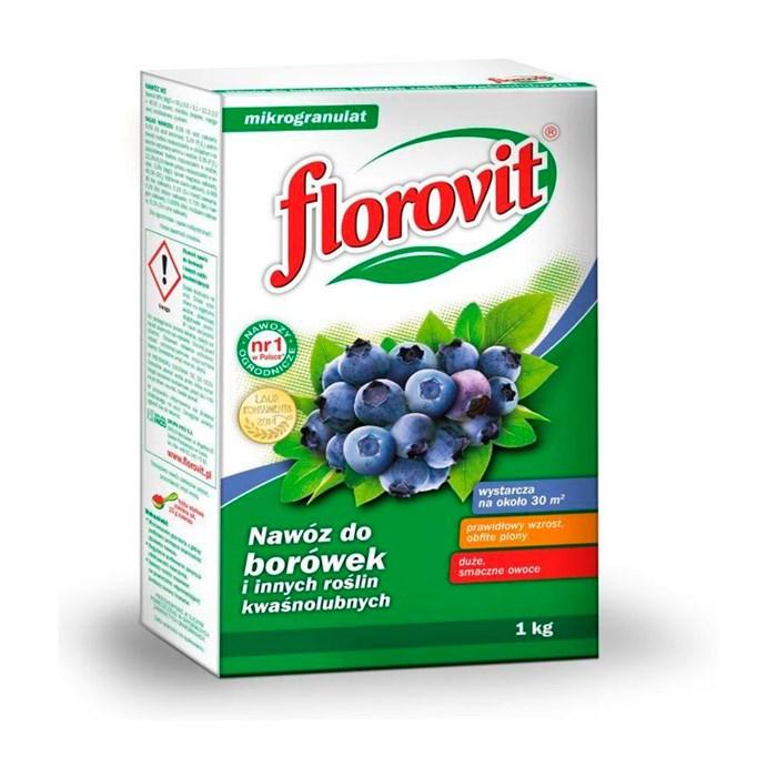 Удобрение Флоровит для брусники 1кг гранулированное
