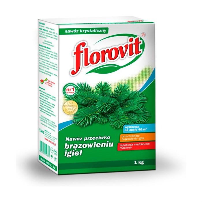 Удобрение Флоровит против побурения хвои 1кг гранулированное - фото 46419