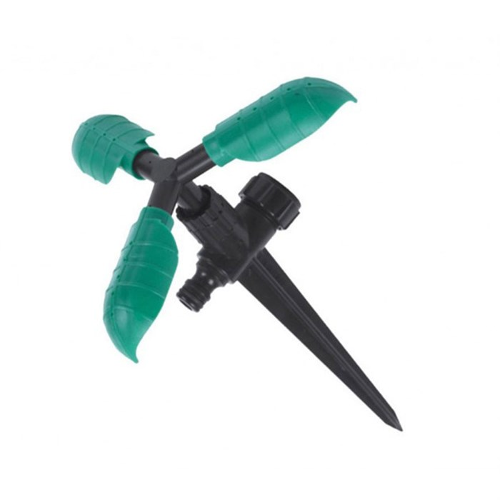 Ороситель 3-х рожковый вращающийся на ножке 3030 - фото 50172