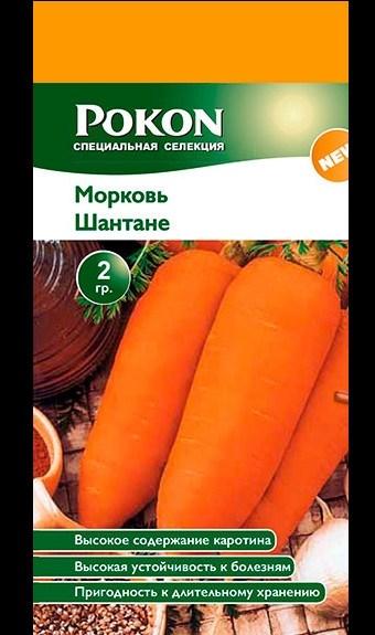 Морковь Шантане 2 гр - фото 50657