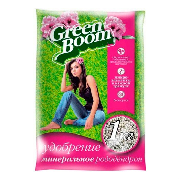 Удобрение Грин Бум для рододендронов 1 кг - фото 52092