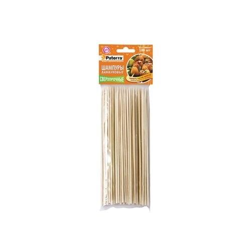 Шампуры ПАТЕРРА  бамбук 100шт - фото 53860
