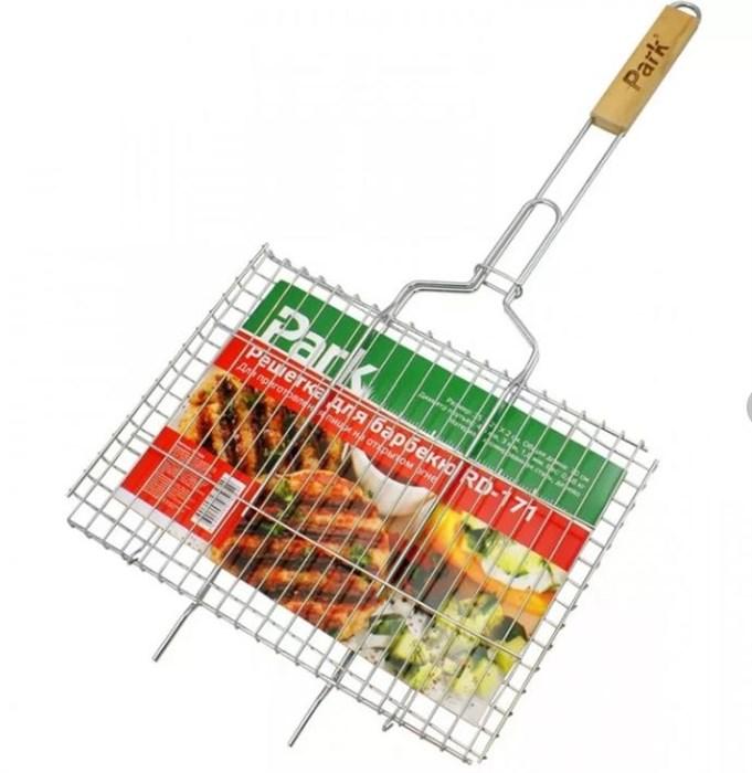 Решетка для барбекю Парк 40*28*1см - фото 53866