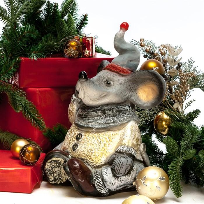 Фигура Крыс в шарфе - фото 54623