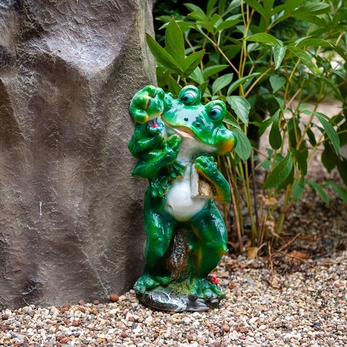 Фигура Лягушка с лягушонком - фото 61111