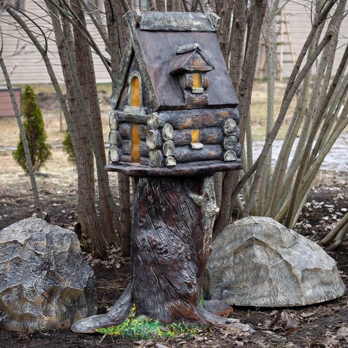 Фигура Избушка на дереве - фото 62773