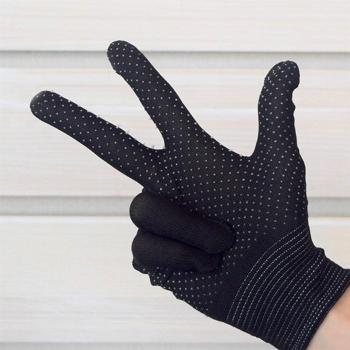 Перчатки ПВХ нейлоновые - фото 63085