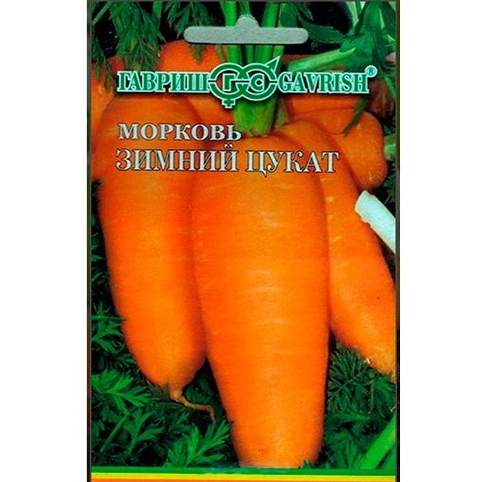 Морковь Зимний цукат 8м лента - фото 64512