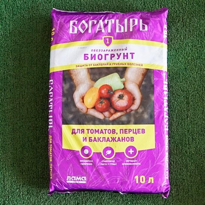 Грунт Богатырь для томатов,перца и баклажанов 10л (5) - фото 72192