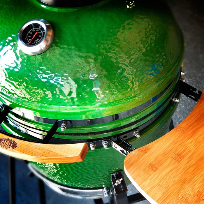 Керамический гриль яйцо 18 дюймов (48см) - фото 72780