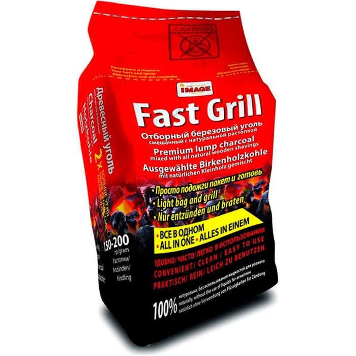 Уголь FastGrill 1.2кг - фото 73956