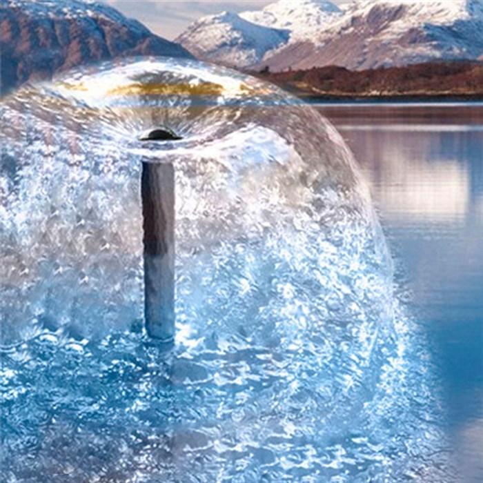 Насос Листок фонтанный 2000л - фото 74688