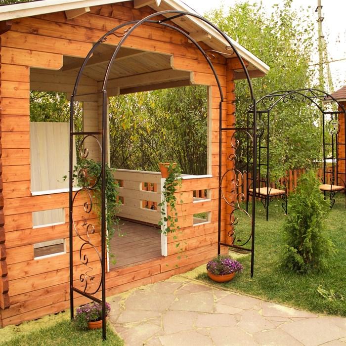 Арка садовая металлическая 860-68R - фото 77439