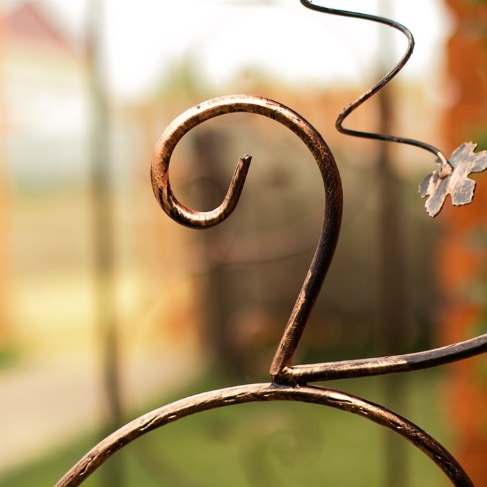Арка садовая металлическая 860-68R - фото 77441