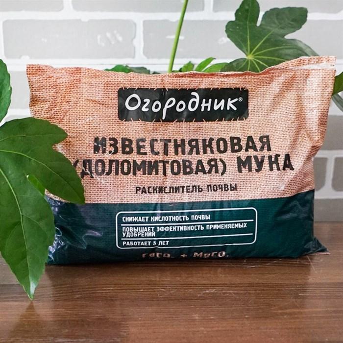 Раскислитель Огородник Известняковая (доломитовая) мука 2 кг (10) - фото 81119