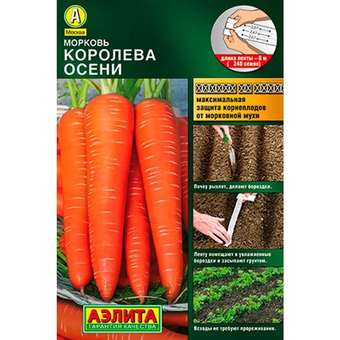 Морковь Королева осени лента - фото 85166