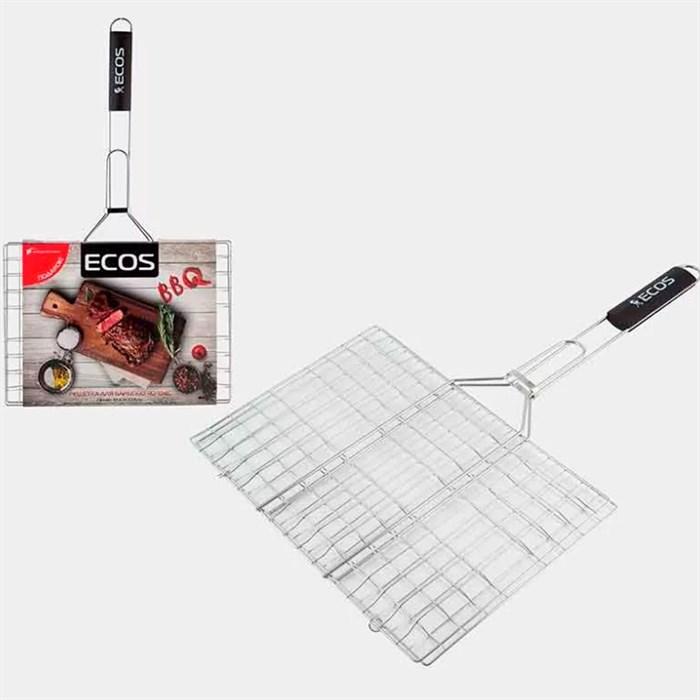 Решетка для барбекю ЭКОС 35*25*1.5см - фото 86716