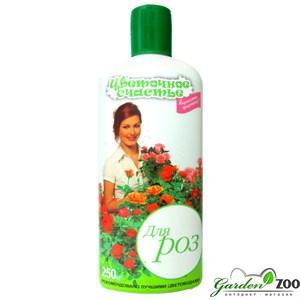 Удобрение Цветочное счастье для роз 250мл