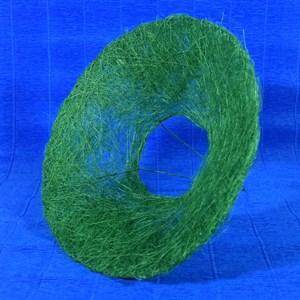 Каркас для букета 25 см сизаль гладкий зеленый