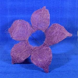 Каркас для букета сизаль цветок 25см сирень