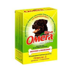 Лакомство Омега Нео для собак 90т протеин+карнит