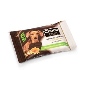 Лакомство Шоколад для собак 15г Темный с инулином